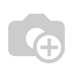 A light lamp made of polished, painted camel skin
